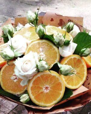 Апельсиновый букет