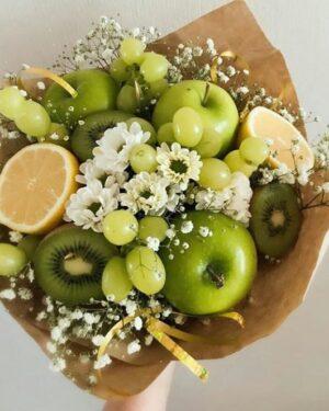 Фруктовый букет из яблок
