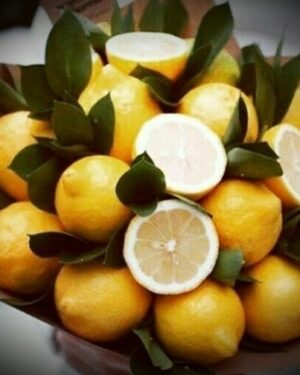 Букет Лимоный