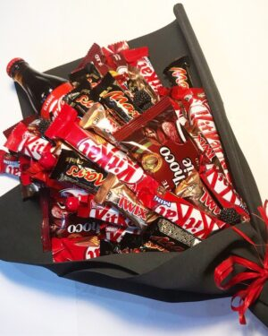 Букет из шоколадок купить с доставкой по Екатеринбургу
