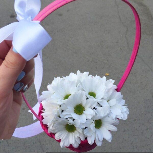 Цветочную корзинку - заказать с доставкой по Екатеринбургу