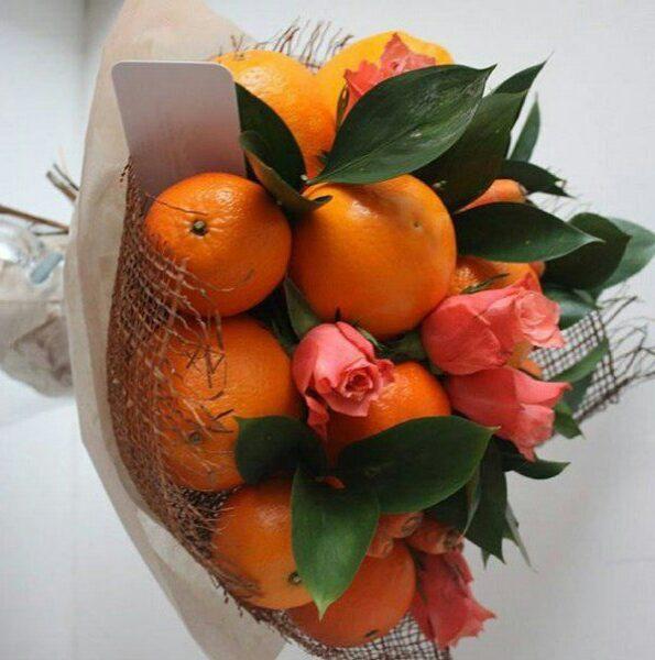 Заказать вкусный и необычный съедобный букет в Екатеринбурге с доставкой. Букет из фруктов, овощей, сладостей, клубники, сухофруктов, мужской с алкоголем