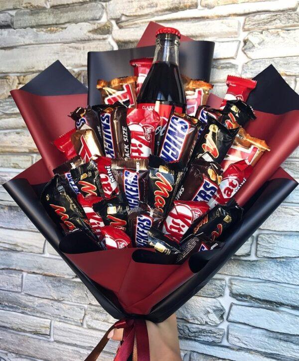 Шоколадный букет из шоколада заказать с доставкой по Екатеринбургу -https://www.ekbbuket.ru