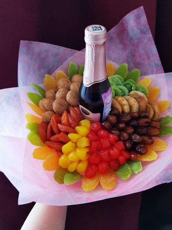 Съедобный Сухо фруктовый букет 2