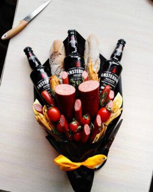Мужской букет с пивом
