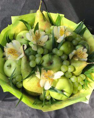 Необычный подарок. Букет из фруктов