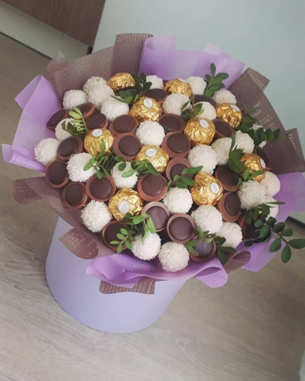 Букет из любимых конфет